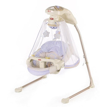 Cadeira Balanço Fisher-price Papasan Cradle Swing Starlight