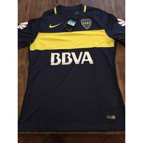 Camiseta Boca Juniors Titular Match Nuevo Modelo Original !!
