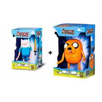 Boneco Adventure Time Hora Da Aventura Finn & Jake Grow