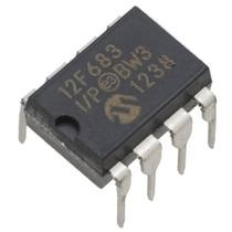 10x Microcontrolador * Pic12f683 * Pic 12f683 * 12f683