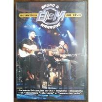 Bruno & Marrone Acustico Bem Ao Vivo Dvd Lacrado Original