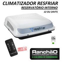 Climatizador Resfriar Interno Caminhão 12/24vts C/ Controle