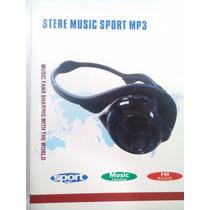 Audifonos De Diadema Techpro Stereo Music Sport Mp3