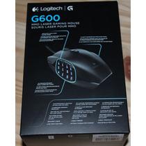 Mouse Gamer Mmo 8200 Dpi Logitech G600 Original Novo