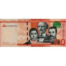 Grr-billete República Dominicana 100 Pesos Dominicanos 2014