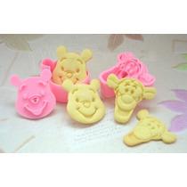 Cortadores De Galletas De Tiger And Winnie The Pooh