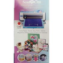 Maquina De Corte Scanncut Brother Cm550- Scanner Intergrado