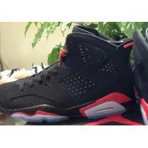 Nike Air Max Jordan 6 Retro Black Infrared Nba Kobe Lebron