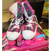 Patines Monster High Draculaura Originales Bota