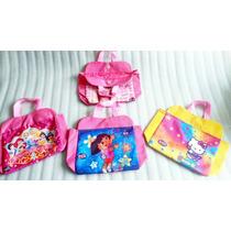 Cartera Bolso De Niña Hello Kitty Barbie Dora Juguetes