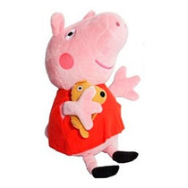 Peppa Pig De Pelúcia - Boneco Pepa - Pronta Entrega