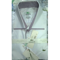 Kit 3 Camisa Social Lakoste Lançamento