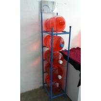 Rack Para Garrafones, Exhibidor Para Purificadoras De Agua
