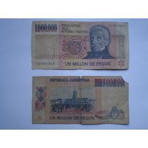 Billete De 1.000.000 De Pesos Moneda Nacional