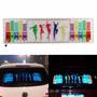 Adesivo Equalizador Led Car Music Colorido Vidro Carro 90x25