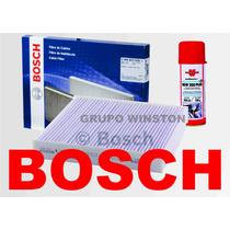 Filtro Ar Condicionado Bosch + Higienizador Honda City Fit