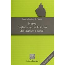 Libro Nuevo Reglamento De Transito Del Distrito Federal