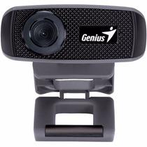 Webcam Camara Web Genius Facecam 1000x Hd 720p C/ Micrófono