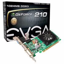 Placa De Video Geforce Nvidia G210 1gb Vga Dvi Hdmi