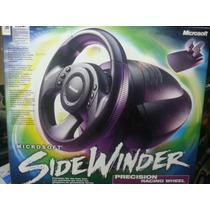 Volante Gamer Microsoft Sidewinder Usb Novo