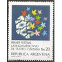 Argentina Año 1984 Mt 1481 Gj 2179 Mint Festival De Teatro