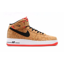 Nike Nike Air Force 1 Mid Cork Af1 Solo A Pedido!!!