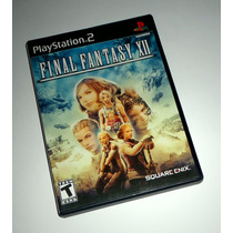 Final Fantasy Xii 12 Original Completo Playstation 2 Ps2 Ps3