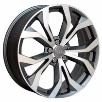 Roda Audi Rs6 R35 Aro 17 4x100 Gd Gol Onix Hb20 Saveiro Clio