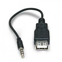 Cabo Adaptador Plug P2 X Usb Femea P/ Cdplayer, Rádio 30 Cm