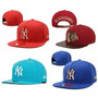 Boné New York Nfl Nba Mlb Ny Snapback Black Friday