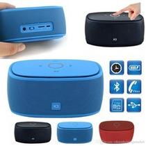 Parlante Bluetooth Con Lector De Tarjeta Micro Sd, Sonido 3d