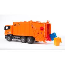 Bruder 3560 - Caminhão De Lixo Scania R Series