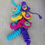 Guirnalda Pajaritos Tejida Crochet - Lanegracreaciones