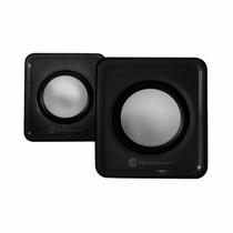 Bocina Multimedia Techzone Estereo Usb Y 3.5mm-negro