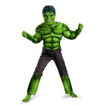 Disfraz Hulk The Avengers 100% Original Niño Talla Grande