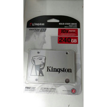 Disco Rigido Estado Solido Ssd Kingston 240 Gb Uv400 Sat 3.0