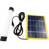 Luminaria Solar Recargable Con Fotocelda Exteriores Y Jardin