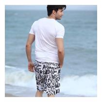 Short De Playa Tipo Coreano Para Dama Y Caballero