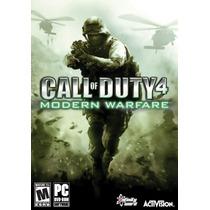Call Of Duty 4 Modern Warfare Pc Envio Em 5 Minutos Original
