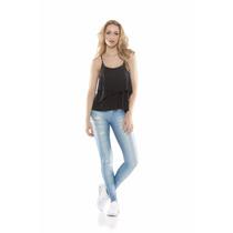 Legging Jeans - Rola Moça