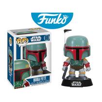 Boba Fett Star Wars Funko Pop Guerra De Las Galaxias Lucas