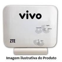 Modem Roteador Wifi Vivo Box Zte Mf23 3g Branco Somente Vivo