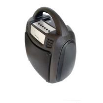 Caixa Som Amplificada Potente Bluetooth Bateria Usb Fm 30b