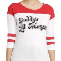 Harley Quinn Playera Escuadron Suicida Disfraz Cosplay