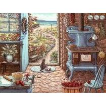 Quebra Cabeça Puzzle 500 Peças Country Kitchens