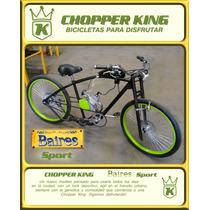 Bicimoto Chopper King Baires Sport Somos Fabricantes!