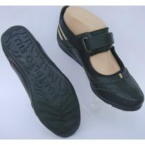 Zapatillas Tipo Guillermina 35 Eco-cuero Negro (ana.mar)