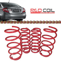 Mola Esportiva Red Coil New Civic 2012 2013 2014 2015 2016