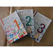Coleção Novas Palavras 3 Volumes 1 - 2 - 3 Ótimo 2ª Edição