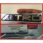 Emblema Trd En Relieve Aluminio Flexible Para Toyota
